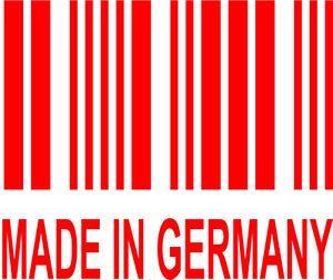 Made in Germany Vinyl Decal Sticker Euro BMW Audi VW VAG GTI Gli R32 Golf Jetta