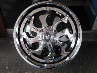 "28"" Dub Phenom Spinners with Tires Donk Floaters Davin asanti Lexani 26 30 Tis"