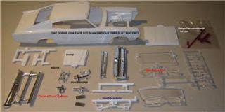 Model Kit Lot Body 1967 Dodge Charger Mopar 426 Hemi gms Customs Hobby Parts