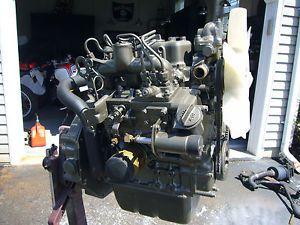CH12048 John Deere 850 3 Cylinder Yanmar Engine Cylinder Block 3T80J