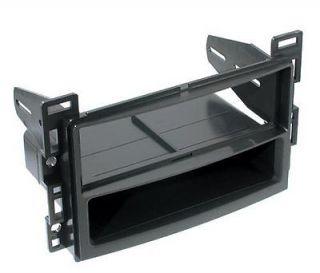 Chevy Radio Dash Kit Single DIN Install Stereo w Pocket Faceplate CH1587PK