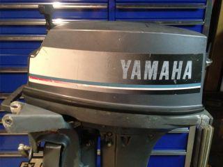 1984 Yamaha 9 9 HP 2 Stroke Outboard Motor Boat Engine Sailboat No Lower Unit