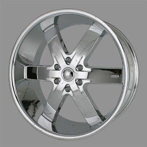 "24"" U2 55 s Rims Chrome Wheels Tires Escalade Yukon GMC Armada Denali QX56 22 20"