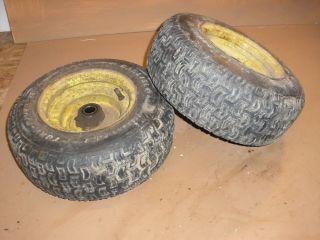 John Deere Tractor Lawn Mower 317 Carlisle Front Turf Tires Rims 16x6 50 8
