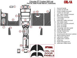 Chrysler PT Cruiser 01 05 Interior Wood Dash Kit Trim Parts Accessories