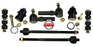 2 Lower Ball Joints Front Sway Bar Links Inner Outer Tie Rods PT Cruiser Neon