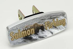Salmon Fishing Alaskan Hitch Cap Plug Receiver Cover