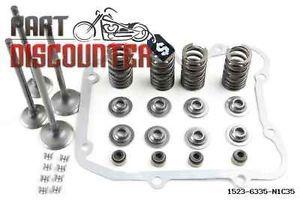 Polaris Scrambler 500 Engine Cylinder Head Valve Spring Rebuild Kit Set