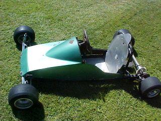 1960's Vintage Quarter 1 4 Midget Race Car Kids Rat Hot Rod Go Kart Minibike 70s