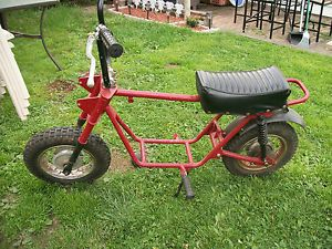 Vintage Old School Rupp Coleman Minibike Mini Bike