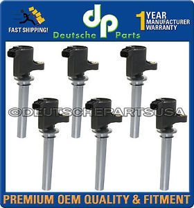 New Ford Taurus Mercury Sable Direct Ignition Coil Coils Set 6pc 2005