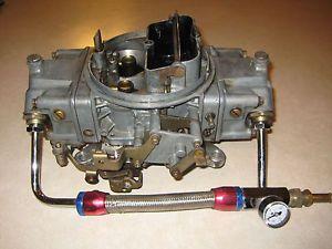 Holley 4777 5 650 Double Pumper Carburetor 750 600 Carb Intake Edelbrock Chevy