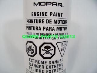 Mopar Chrysler Dodge Engine Enamel Restoration Paint Hemi Orange P N P4349216