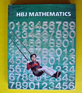 HBJ Mathematics Grade 3 Math Book Textbook Multiplications Geometry Fractions