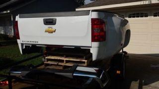 2007 2013 Chevy Silverado Sierra Dually 3500 HD 8ft Truck Bed Tailgate Bumper
