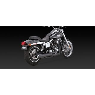 Vance and Hines 47551 Black Pro Pipe for 2006 11 Harley Davidson Dyna