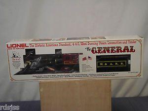 Lionel 6 8701 The General Engine Tender Cars Old Stock Big O Gauge