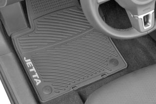 2011 2012 Jetta Monster Floor Mats Set of 4 Rubber Volkswagen VW MK6 TDI Gli