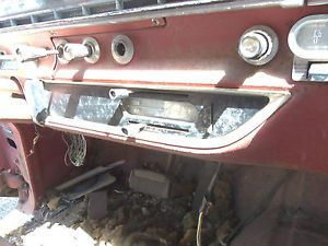 61 Ford Galaxie Lower Dash Trim Molding Moulding Bezel Plate Cover Right