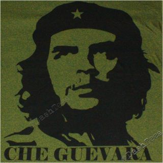 Che Guevara Victoria Communist Cuba Men New T Shirt Red Olive Green Faceggsbg