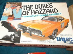 Dukes of Hazzard General Lee Model Car Kit Original 1979