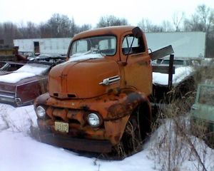 1952 Ford COE Cabover Truck Project