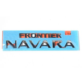 New Genuine Nissan Frontier Navara D40 Emblem Rear