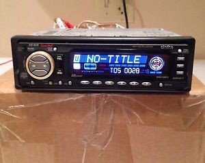 Clarion HX D10 Pro Audio Vintage Old School DRZ9255 McIntosh Harness Car Stereo