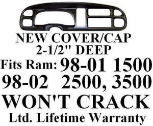 Dodge RAM Dash Bezel Cover Cap Dashboard Board Instrument Gauge Trim Kit Panel P