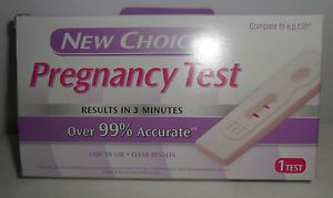 New Choice Pregnancy Test Over 99 Accurate Results in 3 Minutes