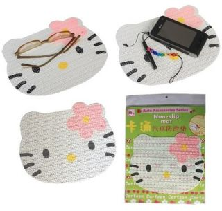 Hello Kitty Car Dash Key Mobile Phone Non Slip Anti Slip Mat Pad Grip