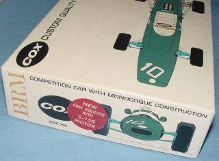 Cox 1 24 Scale BRM Slot Car Racing Kit 9200 x 150 Motor