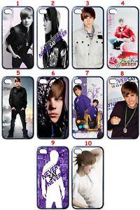 Justin Bieber Fans Custom Design iPhone 4 Case