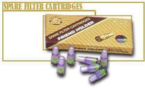 Friend Cigarette Holder Spare Filter Cartridges 24PACKS