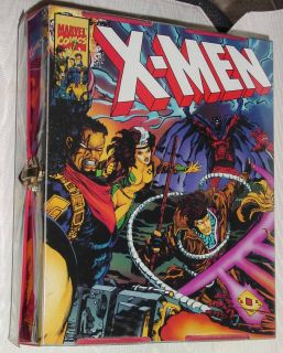 X Men 1994 Action Figure Comic Book Carry Carrying Storage Case 2