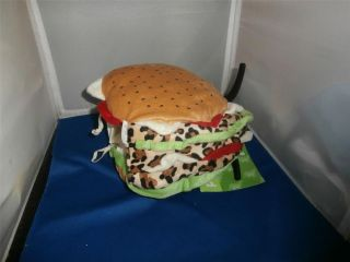 "Hamburger Dog Pet Halloween Costume s Small 10 13"""