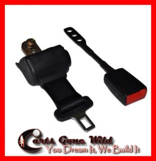 Golf Cart Seat Belt, Universal Retractable Seat Belt, Front or Back Seats
