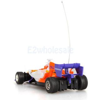 Mini RC Radio Remote Control Formula F1 Race Racing Car Vehicle 1 43 Scale Toy