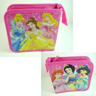 Disney Princess Ariel Aurora Snow White CD VCD DVD PSP UMD Storage Case Holder