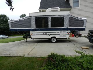 Vintage 1997 Dutchmen Pop Up Popup camper for Parts or Repair