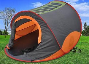 Solar Power Pop Up Camping Festival Fishing Touring Holiday Tent Shelter Bivvy