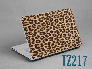 "Laptop Notebook Skin Sticker Cover Deco Leopard Print 15 6"" HP Lenovo Dell Asus"