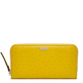 "♥ Kate Spade ""Head in The Sand"" Neda Yellow Wallet ♥"