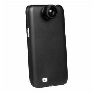 Fish Eye Fisheye Camera Lens with Case for Samsung Galaxy S4 SIV GT I9500 DC365