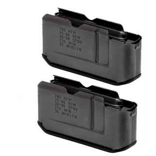 TWO Factory REMINGTON 7600 Long Action Magazines 4 Rd 25 06 30 06 270 280