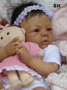 "Amazing Reborn Asian Japanese Biracial Newborn Baby Girl Doll ""Ayaka"" Sale"