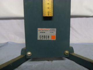 Cenco Chemistry Physics Lab Test Equipment Education Business 76365