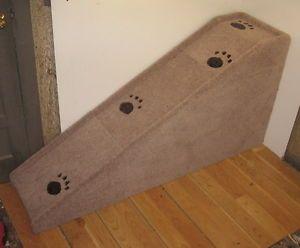 "30"" Tall x 14"" Wide Wooden Dog Cat Ramp Dog Steps Small Dog Pet Steps USA"