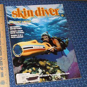 Skin Diver Magazine September 1981