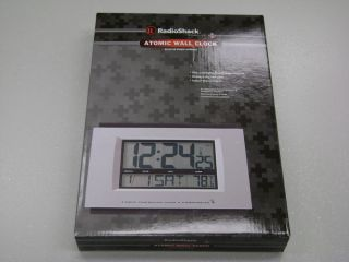 Radio Shack Atomic Clock New